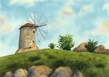 Windmill - Art Print