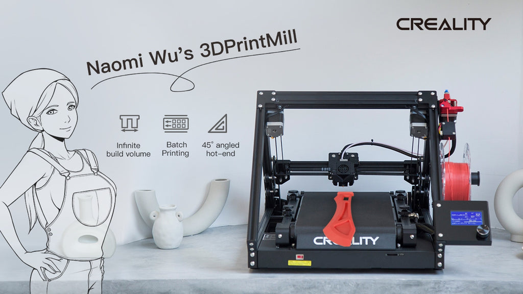 Updates- Creality CR-30, die 3DPrintMill, Infinite-Z, Gürtel 3D-Drucker-Coming to Kickstarter Soon!