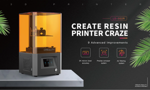 LD-002R LCD Resin 3D Printer high strength interpretation of ultra-high cost-effective configuration