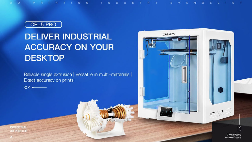 New Released!Creality CR-5 PRO Desktop 3D printer
