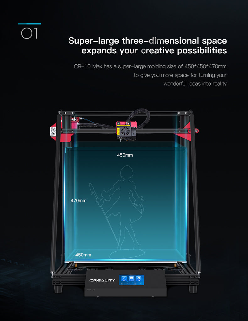 Official CrealityCR 10 Max 3D Printer