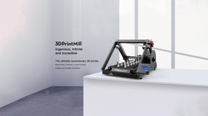 Creality CR 30 Belt 3d printer, 3d printmill
