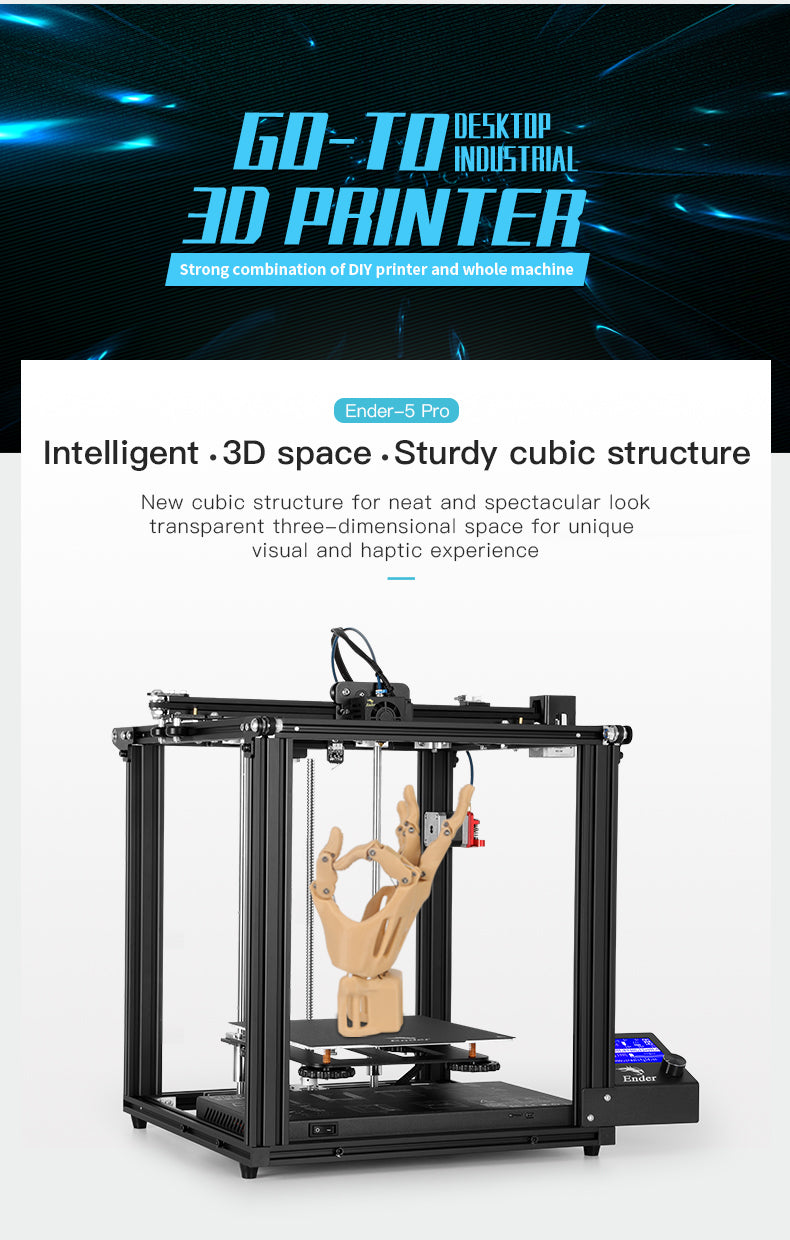 Official Creality Ender 5 Pro 3D Printer01