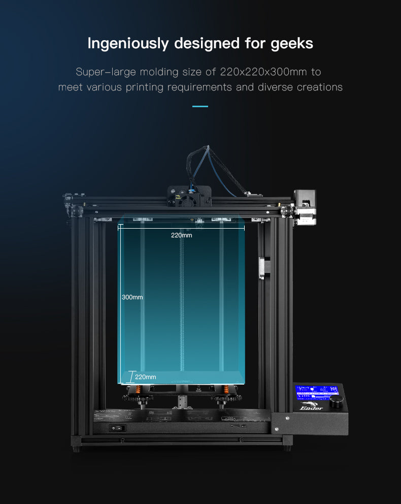 Official Creality Ender 5 Pro 3D Printer04