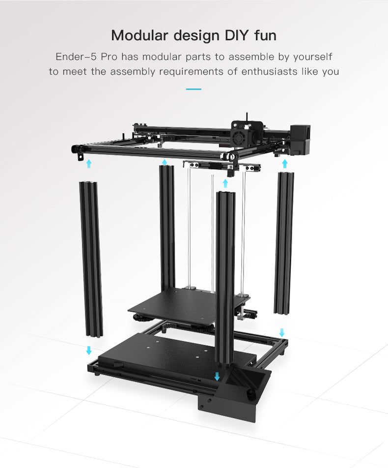 Official Creality Ender 5 Pro 3D Printer05