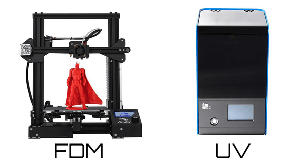 Fdm and UV printer
