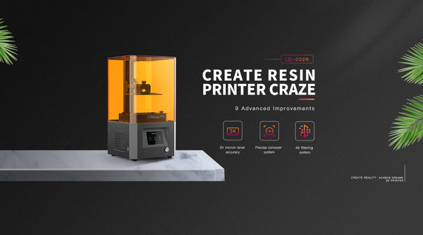 LD-002R LCD Resin 3D Printer
