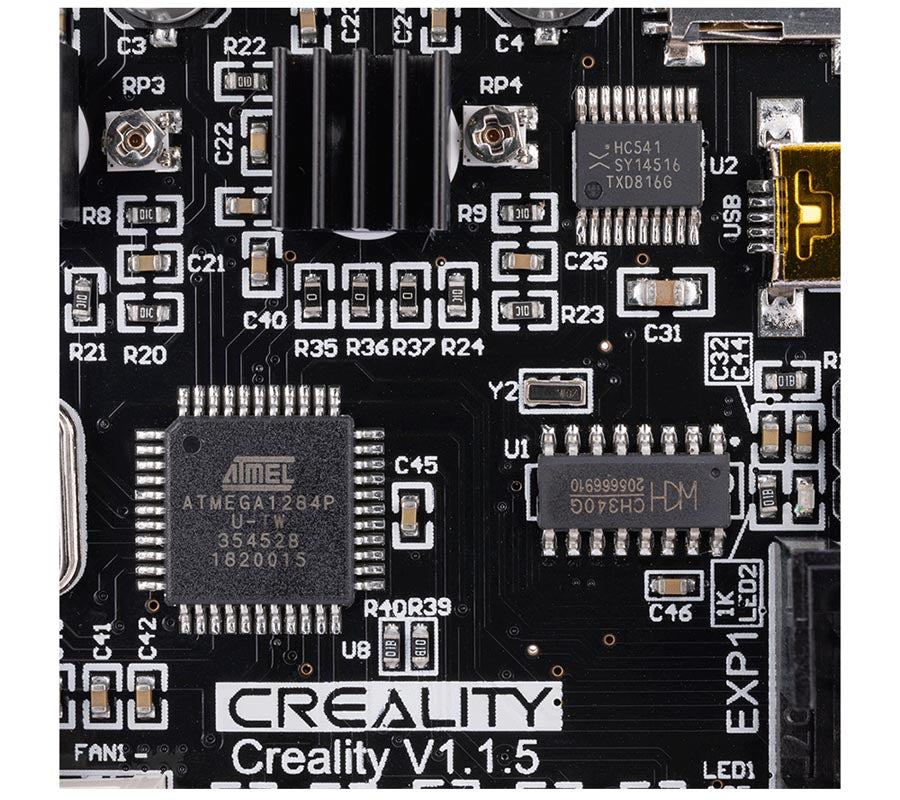 Creality3D Mainboard V1.1.5 HD Photos06 Silencieux