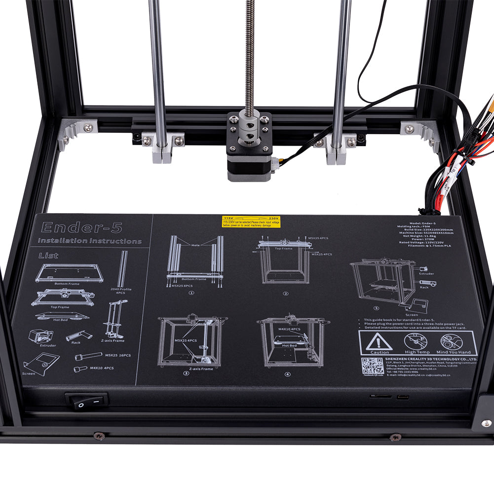 Official Creality Ender 5 3D Printer – Creality3D Store
