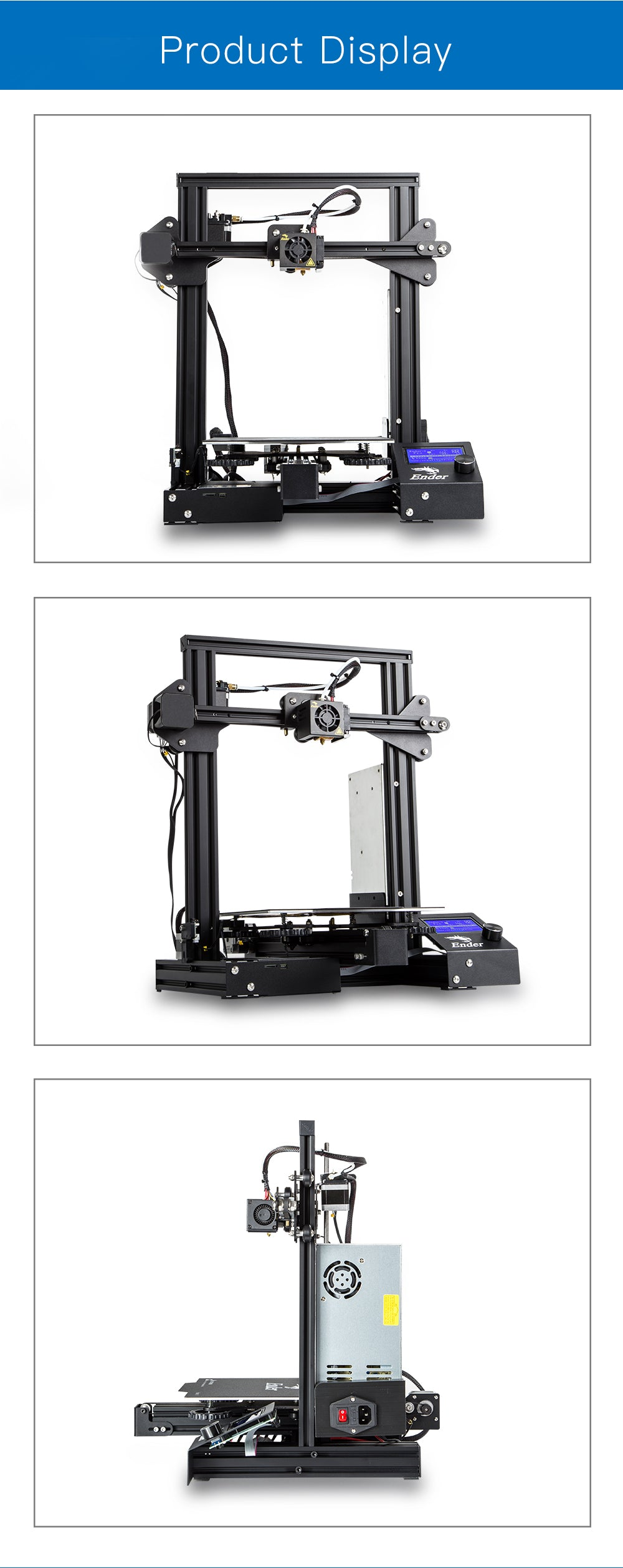 Creality3D Ender 3 Pro HD photos010