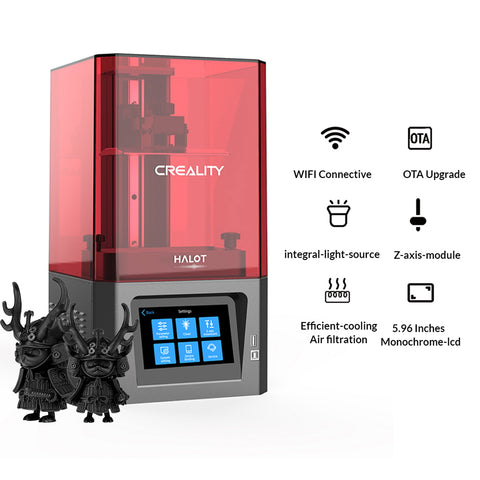 Creality HP Series 3D Printing Filament, 1.75mm, 3+1KG Set