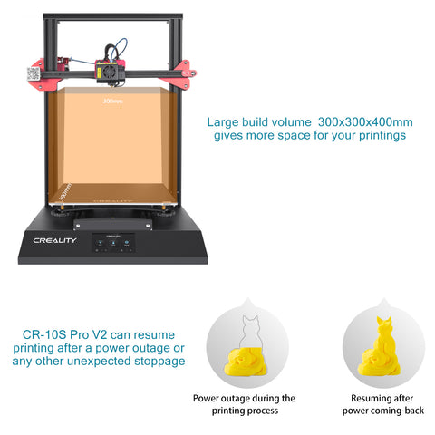 CR-10S Pro V2 3D Printer