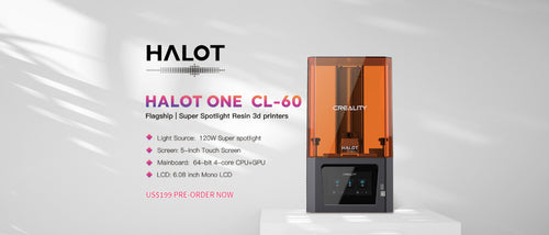 Creality3d HALOT-ONE, CL-60 LCD Resin 3D Printer