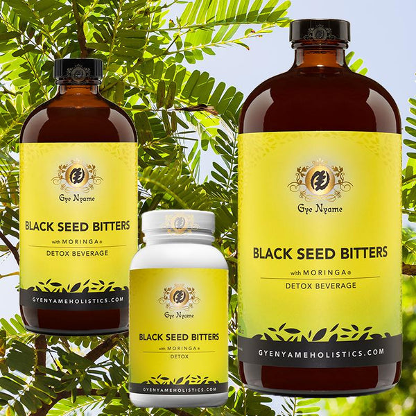 Black Seed Bitters with Moringa