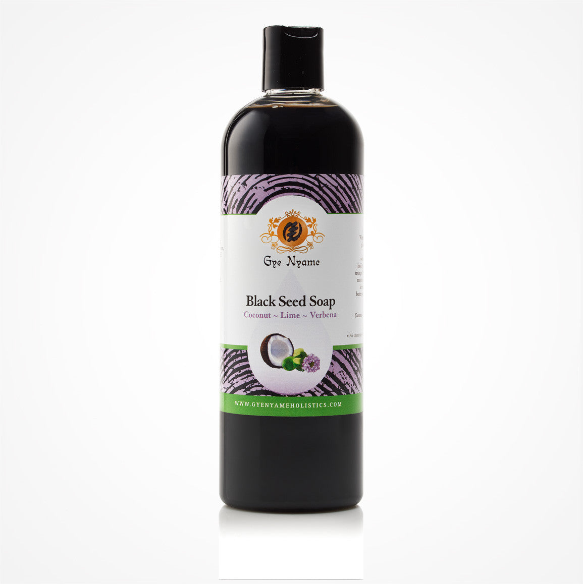Gye Nyame Black Seed Liquid Soap Coconut Lime Verbena (Nigella Sativa)
