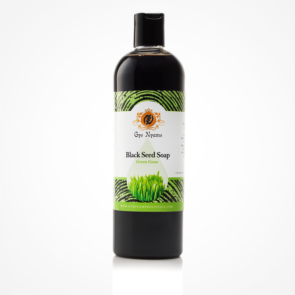 Gye Nyame Black Seed Liquid Soap Green Grass (Nigella Sativa)