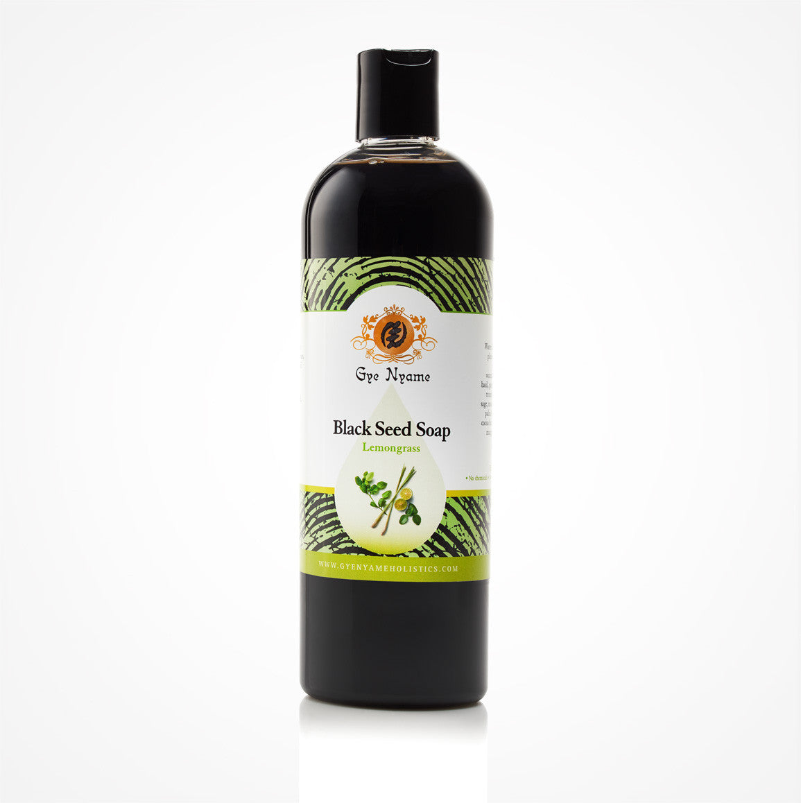 Gye Nyame Black Seed Liquid Soap Lemongrass (Nigella Sativa)