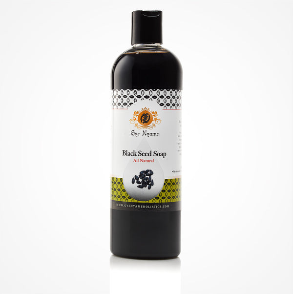 Gye Nyame Black Seed Liquid Soap Natural (Nigella Sativa)