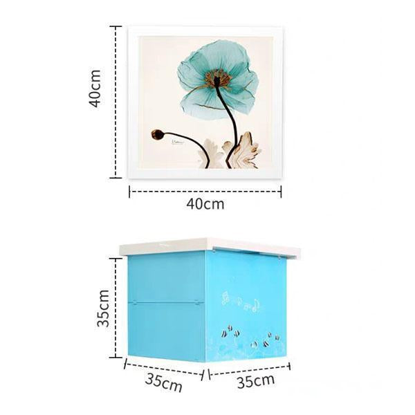 Foldable Bathroom Mural Storage Box