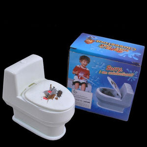 Mini Prank Squirting Toilet