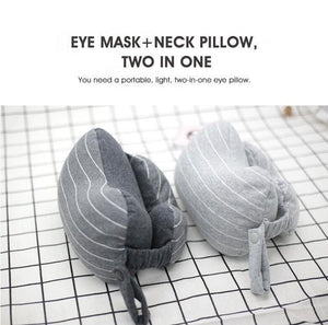 Multifunctional Eye Mask Neck Support Pillow