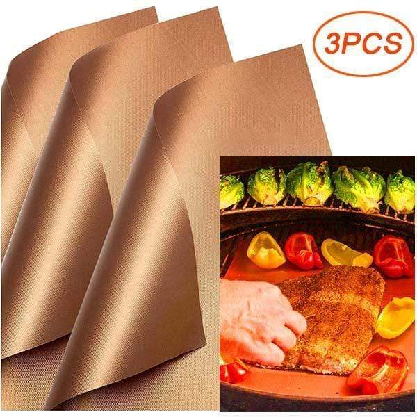 Copper Grill Mats ( BUY MORE SAVE MORE )