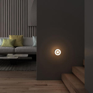 Wall-Mounted Intelligent Human Body Induction LED Night Light