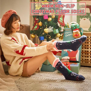Warm Non-Slip Christmas Floor Socks