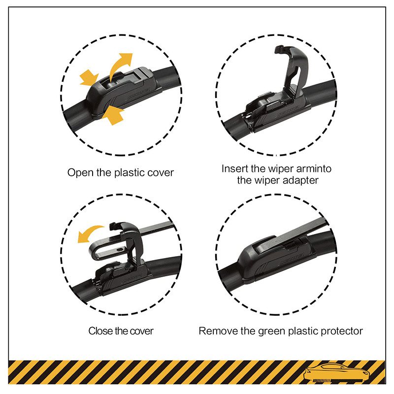 Popular Type Windshield Wiper Blades