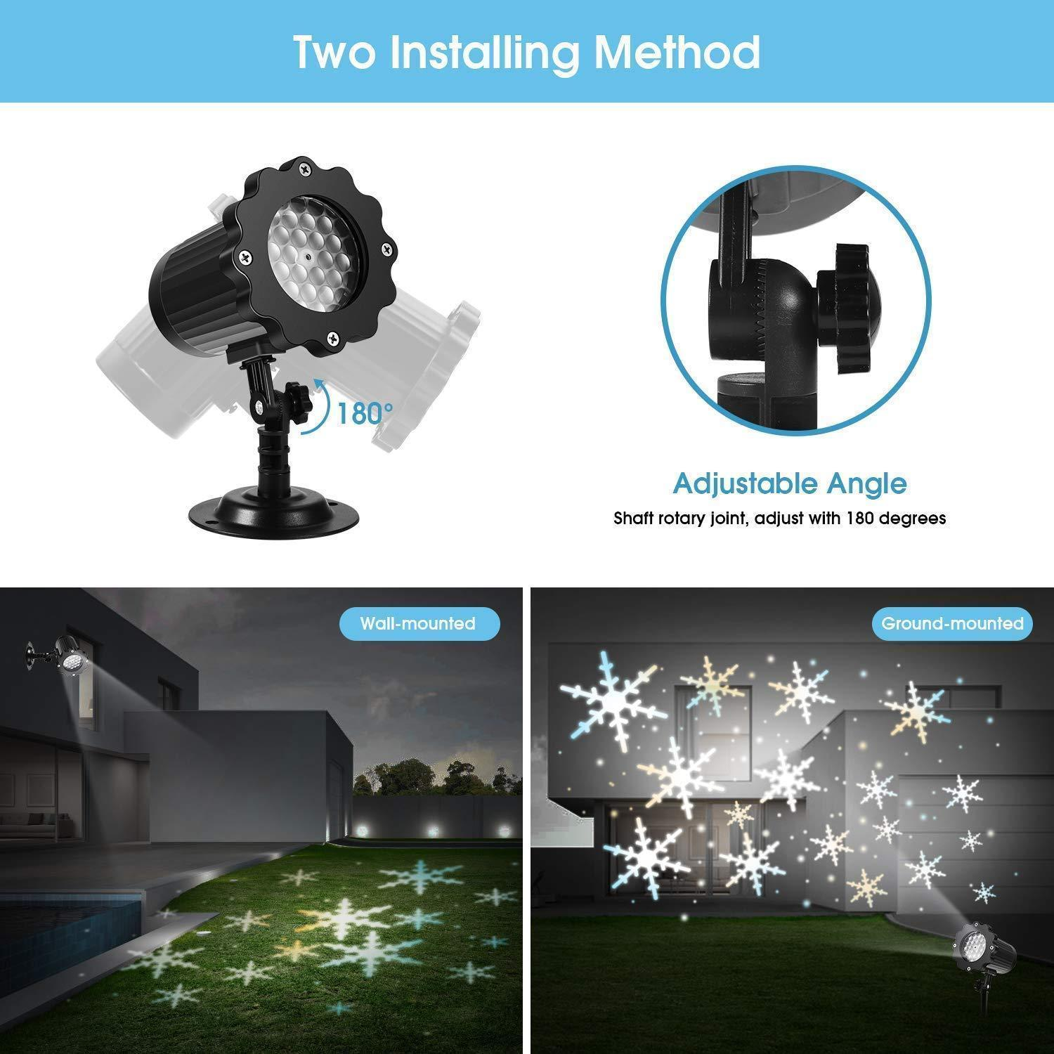 Outdoor Festival Projection Lamp