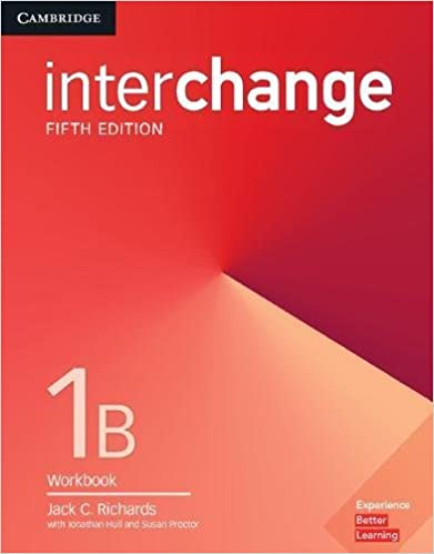 Interchange 5ed Workbook 1B