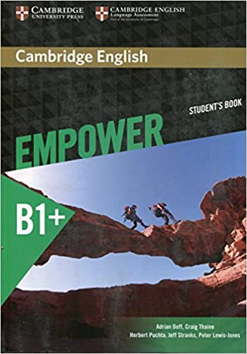 Cambridge English Empower Student's Book Intermediate