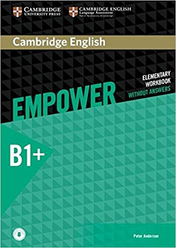 Cambridge English Empower Workbook without Answers and Audio