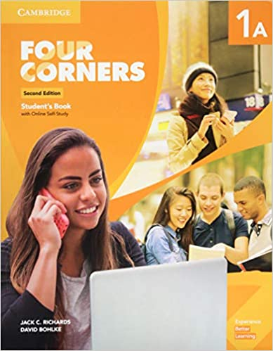 Four Corners 2ed Student's Book with Selfstudy 1A