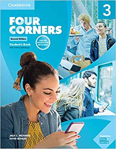 Four Corners 2ed Student's Book with Selfstudy and Online Workbook Pack 3