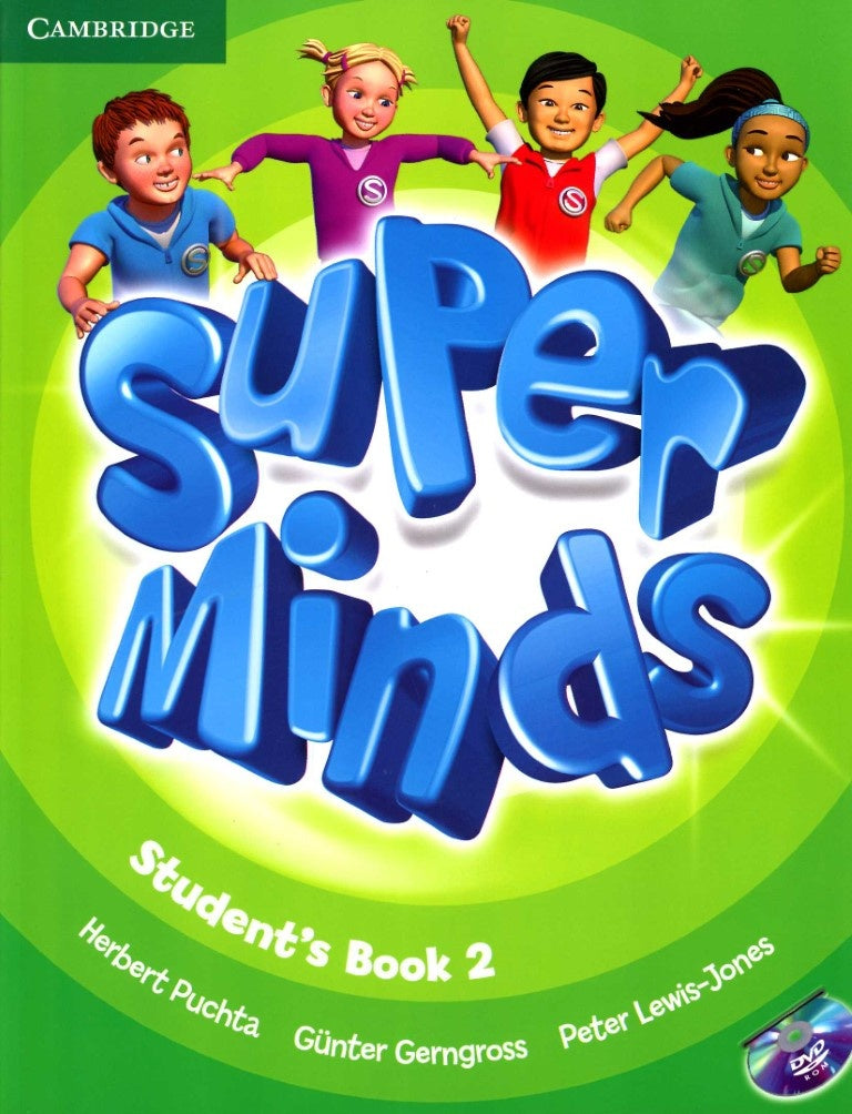 Super Minds Student's Book with DVD-ROM 2