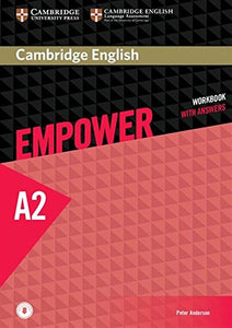 Cambridge English Empower Workbook with Answers and Audio Elementary