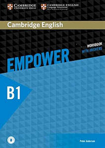 Cambridge English Empower Workbook with Answers and Audio Pre-Intermediate