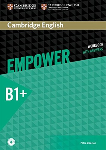 Cambridge English Empower Workbook with Answers and Audio Intermediate