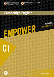 Cambridge English Empower Workbook with Answers and Audio Advanced