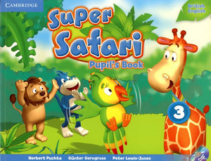 Super Safari Pupil's Book with DVD-ROM 3