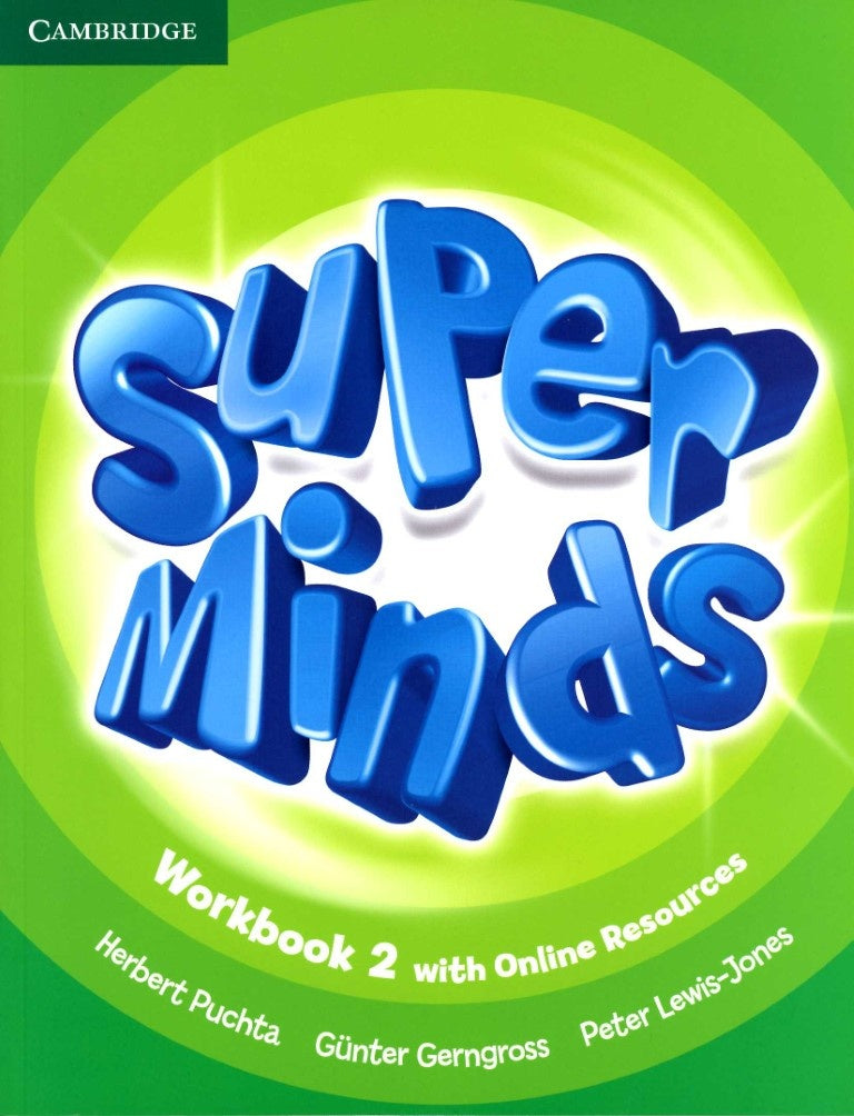 Super Minds Workbook with Online Resources 2