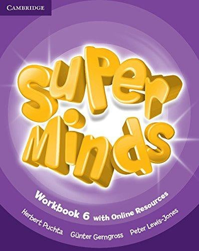 Super Minds Workbook with Online Resources 6