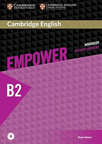 Cambridge English Empower Workbook without Answers and Audio Upper-Intermediate