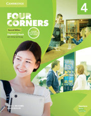 Four Corners 2ed Student's Book with Selfstudy and Online Workbook Pack 4