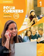 Four Corners 2ed Student's Book with Selfstudy and Online Workbook Pack 1