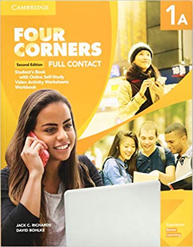 Four Corners 2ed Full Contact with Selfstudy 1A