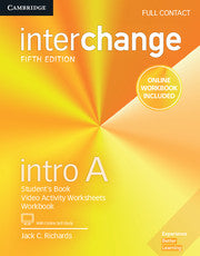 Interchange 5ed Full Contact with Online Self-Study and Online Workbook 0 Intro A