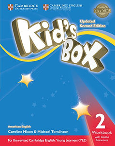 American English Kid's Box 2ed Workbook with Online Resources Exam Update 2