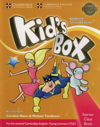 Kid's Box 2ed Class Book with CD-ROM Exam Update 0 Starter